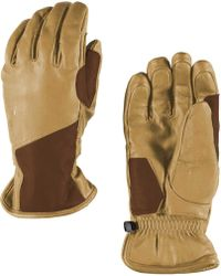 Spyder - Pace Leather Gloves - Lyst
