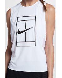 Nike - Court Tennis Tank - Lyst