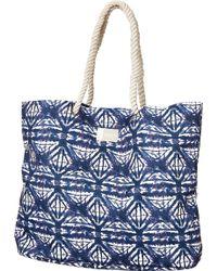 Roxy - Tropic Vibe Printed Tote Bag - Lyst