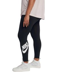 Nike - Plus Size Sportswear High Waisted Leg-a-see Leggings - Lyst