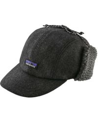 Lyst - Patagonia Recycled Wool Cap in Blue for Men 730fc5613e1e
