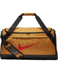Lyst - Nike Brasilia (medium) Training Duffel Bag (grey) - Clearance ... 5c52ce3eff222