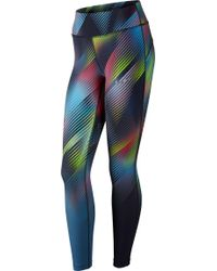 Nike - Power Epic Lux Faded Printed Tights - Lyst