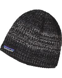 a54041403f3 Lyst - Patagonia  speedway  Beanie in Black for Men