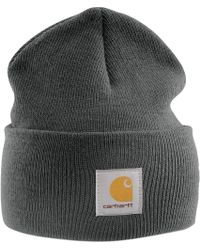 19730207 Carhartt Knit Watch Cap in Brown for Men - Lyst