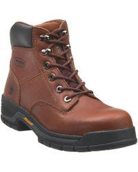 """Wolverine - Harrison 6"""" Steel Toe Work Boots - Lyst"""