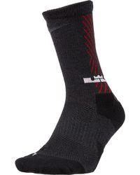 Nike - Lebron Elite Crew Socks - Lyst