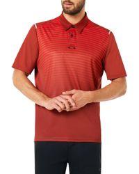 Oakley - Striped Ellipse Golf Polo - Lyst