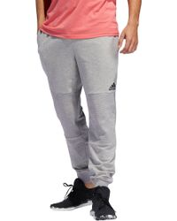 cc0b9acba adidas Essentials 3-stripes Jogger Pants in Red for Men - Lyst