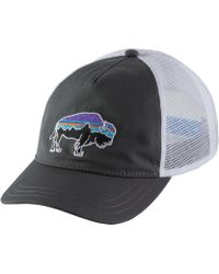 2115d993 Patagonia Painted Fitz Roy Interstate Hat in Blue - Lyst