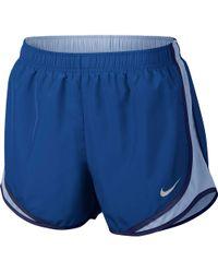 7ec37d4c7c78 Nike Plus Size Tempo Shorts in Blue - Lyst
