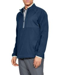 f592385db61146 Lyst - Under Armour Men s Ua Windstrike Full Zip in Gray for Men
