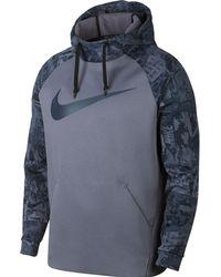 Nike - Therma Rip N Tear Graphic Hoodie - Lyst