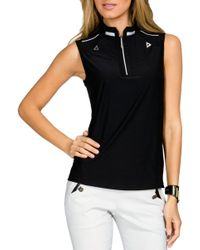Jamie Sadock - 1⁄4 Zip Sleeveless Golf Top - Lyst
