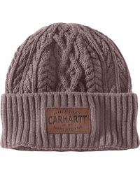 f66a73b0011c3 Lyst - Carhartt Gretna Fleece 2 In 1 Hat And Face Mask
