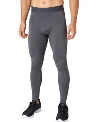Reebok - Cold Weather Compression Heather Tights - Lyst