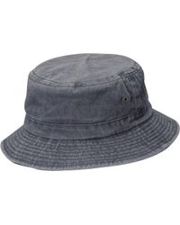 Dorfman Pacific - Pigment Dyed Twill Bucket Hat - Lyst