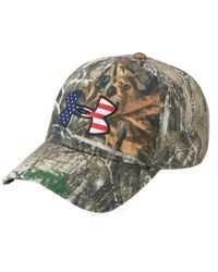 bf527843ce5 Lyst - Under Armour Camo Hat in Green for Men