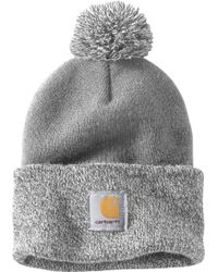 99b297eb1e9fb Carhartt - Lookout Pom Pom Hat - Lyst