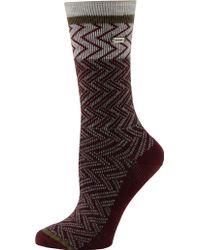Sorel - Chevron Wool Crew Socks - Lyst