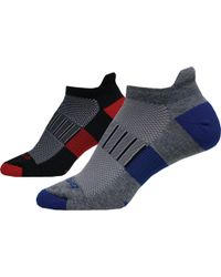Brooks - Ghost Midweight No Show Socks 2 Pack - Lyst
