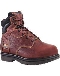"Timberland - Pro 6"" Flexshield Internal Met Guard Steel Toe Work Boots - Lyst"