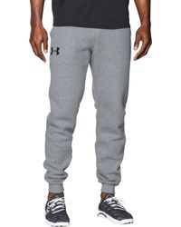 Under Armour - Rival Cotton Jogger Pants - Lyst