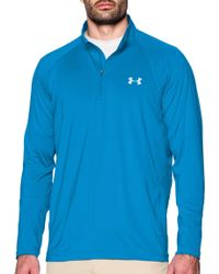 9c1ec70a8d Under Armour - Coolswitch Thermocline Quarter Zip Long Sleeve Shirt - Lyst