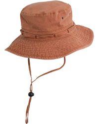 Dorfman Pacific - Pigment Dyed Fashion Boonie Hat - Lyst