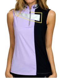 Jamie Sadock - Antigua Sleeveless Golf Polo - Lyst
