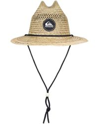 finest selection b1035 03176 Quiksilver - Pierside Slimbot Lifeguard Hat - Lyst