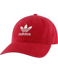 adidas - Originals Relaxed Hat - Lyst