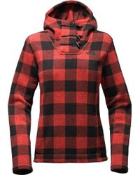 The North Face | Crescent Hooded Fleece Pullover | Lyst