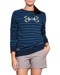 Under Armour - Threadborne Shoreline Terry Fleece Long Sleeve Shirt - Lyst