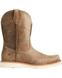 Ariat - Rambler Recon Work Boots - Lyst