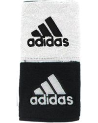 """adidas - Interval Reversible Wristbands - 3"""" - Lyst"""