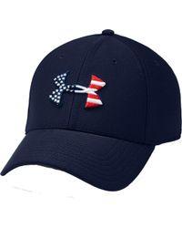 Under Armour - Freedom Flag Blitzing Hat - Lyst 2fa933eb781a