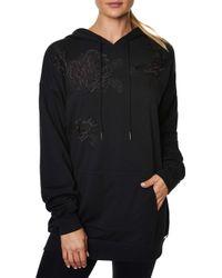Betsey Johnson - Lace Applique Hoodie Dress - Lyst