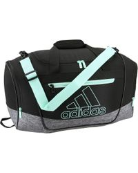 d09af5d8a7dc Lyst - adidas Defender Iii Small Duffle Bag in Black for Men