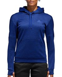 adidas - Team Issue Pullover Hoodie - Lyst