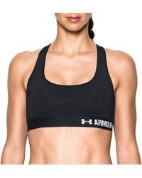 Lyst - Under Armour Women s Armour Bra® Dd Cup in Black 4b6995f4a