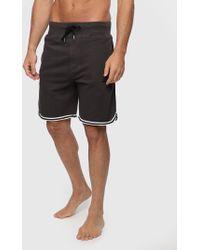 DIESEL - Loungewear Shorts With Contrast Trim - Lyst