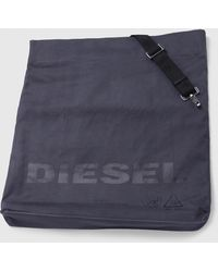 DIESEL - Shopping Bag With Metallic-finish Fabric - Lyst