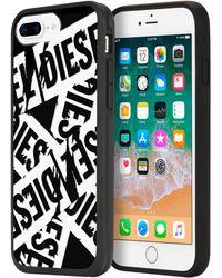 DIESEL - Multi Tape Black/white Iphone 8 Plus/7 Plus/6s Plus/6 Plus Case - Lyst