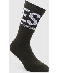 DIESEL - Socks With Successful Living Slogan - Lyst