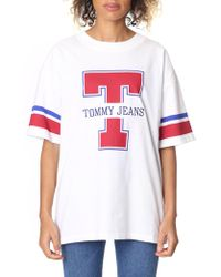 Tommy Hilfiger - Oversized Tommy Logo Tee - Lyst