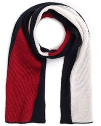 Tommy Hilfiger - Women's Luxury Colorblock Scarf Corporate - Lyst