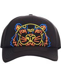 KENZO - Men's Tiger Neoprene Cap Black - Lyst