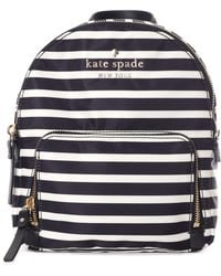 Kate Spade - Women's Watson Lane Small Hartley Mini Rucksack Black/clotted Cream - Lyst