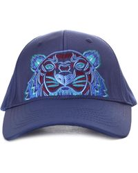 Kenzo Tiger Embroidered Cap in Green for Men - Lyst 8e4fbd338781